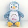 Kuscheltier mit Namen Signature Pinguin