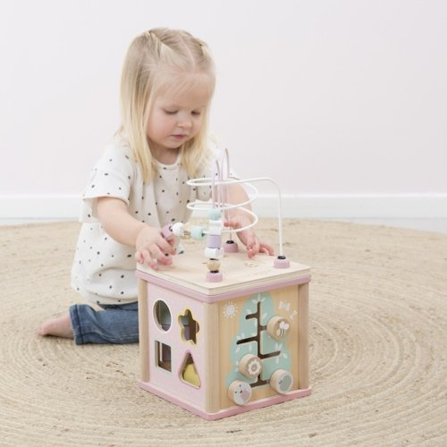 4427 - activity cube - pink 3