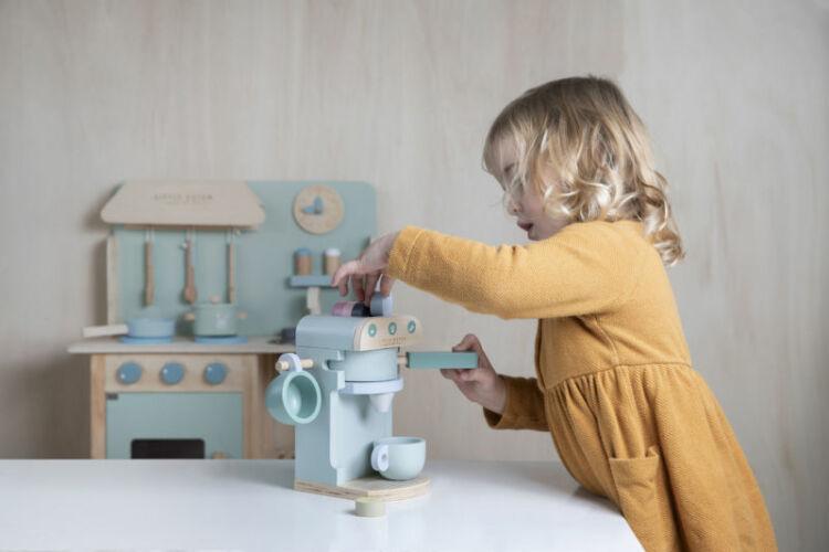 4460 - wooden coffee machine - 4