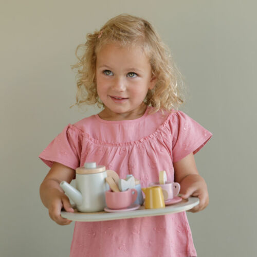 LD7006 - Wooden Tea Set-4